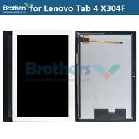 Para lenovo tab 4 10 TB X304L x304f x304 tela lcd com tela de toque digitador display lcd TB X304F painel lcd montagem teste superior Painéis e LCDs p/ tablet     -