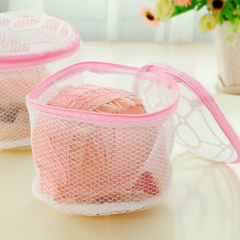Fashion Lingerie Washing Home Use Mesh Clothing Underwear Organizer Bag Useful Net Bra Wash zipper Laundry