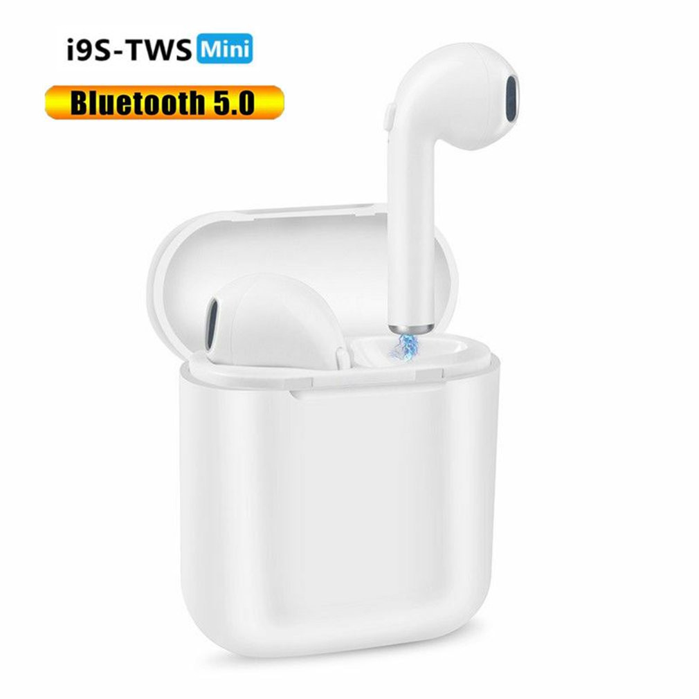<font><b>i9S</b></font> True Wireless Stereo Earbuds Bluetooth Earphones Mini Wireless Headphones <font><b>TWS</b></font> Headset <font><b>Fone</b></font> with Mic for All Smart Phone image