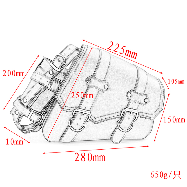 Motorcycle Saddle Bags 4