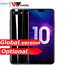 Honor 10 mobile phone honor10 19:9 Full Screen 5.84 inch AI Camera Octa Core Fingerprint ID NFC android 8.1(China)