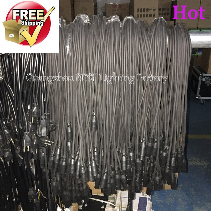 Power Supply Spare Parts 40 Meters  Dmx Cables Led Fortune Ball/ Led Ball Moving Light/led Crystal Light 6 Channels