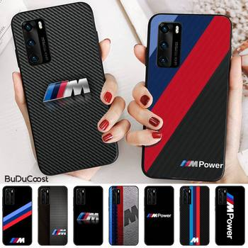 Germany Luxury M BMW Phone Case for huawei p30 lite pro p20 lite p10 p smart plus z 2019 2018 image