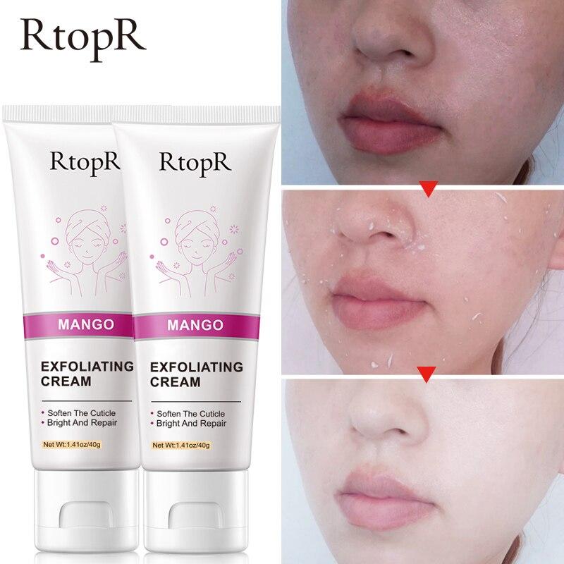 2pcs Rtopr Whitening Moisturizer Repair Face Cream Acne Blackhead Exfoliating Treatment Aging & Wrink Facial Serum Skin Care Beautiful In Colour