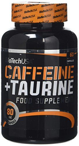 Biotech 1 G Caffein And Taurine/Power Force - Pack Of 60 Capsules