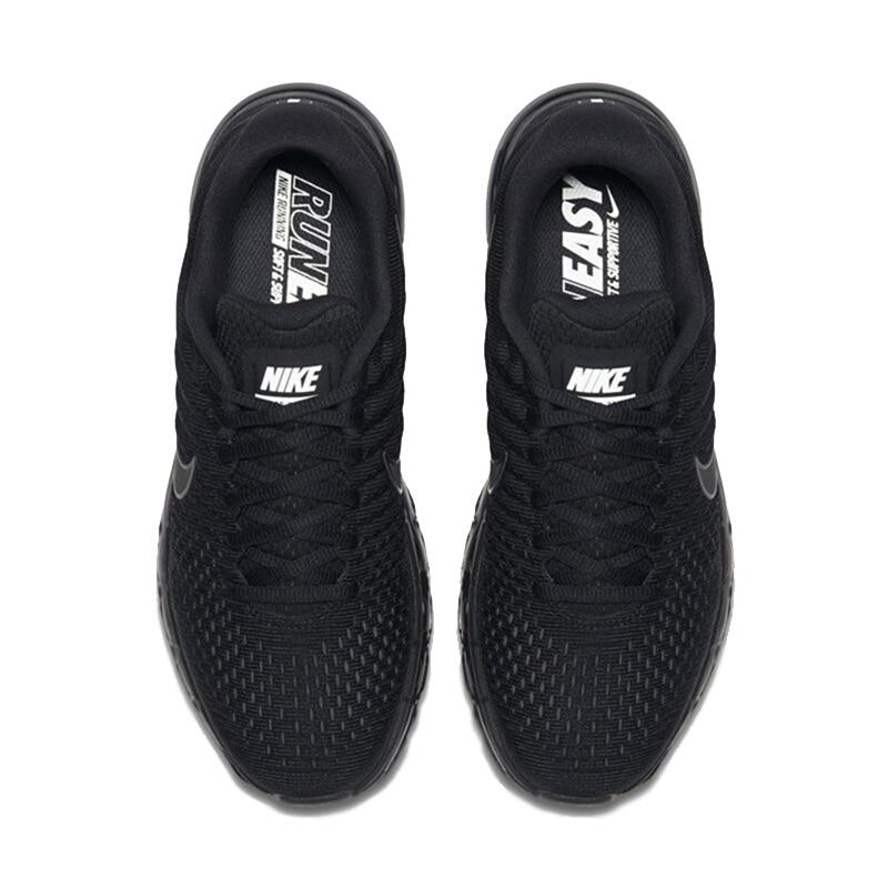 Original Authentic NIKE AIR MAX 2017 Mens Running Shoes Sport Outdoor Mesh Breathable Sneakers Athletic Designer Footwear 849559