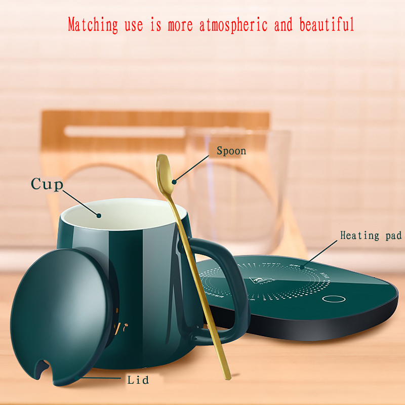 leite chá água almofada de aquecimento constante-temperaturas usb plugue da ue