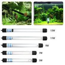 Lampe de stérilisation Submersible à ultraviolets 13W, désinfection à l'eau pour Aquarium et étang