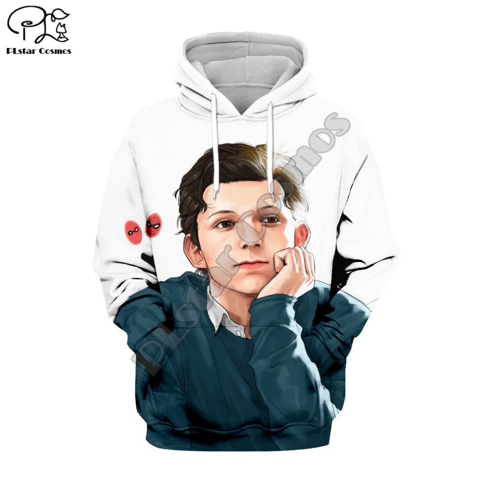 PLstar Cosmos Movie Super Hero Tom Holland Marvel Avengers 3DPrint Zipper/Hoodies/Sweatshirt/Jacket/Mens Womens hiphop funny s-1 image