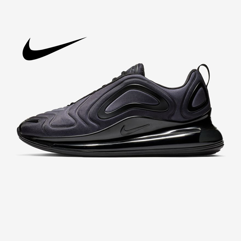 Original Nike Air Max 720 Men's Running Shoes Breathable  Shock-absorbing Comfortable Light Outdoor Jogging Sneakers AO2924-004