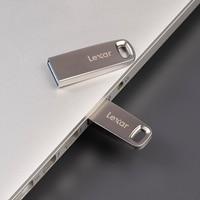 100% Original USB Lexar 3.0 GB USB Flash Drive de 128GB GB 32 64 Alta Velocidade 100 mb/s de Metal Negócio Pendrive U Disk Memory Stick M45