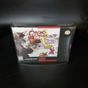 Image 2 - Reproduction Game Retail Box + White Inner lining + Plastic Protective Box For 16 Bit Game Cartridge Card (No Game)