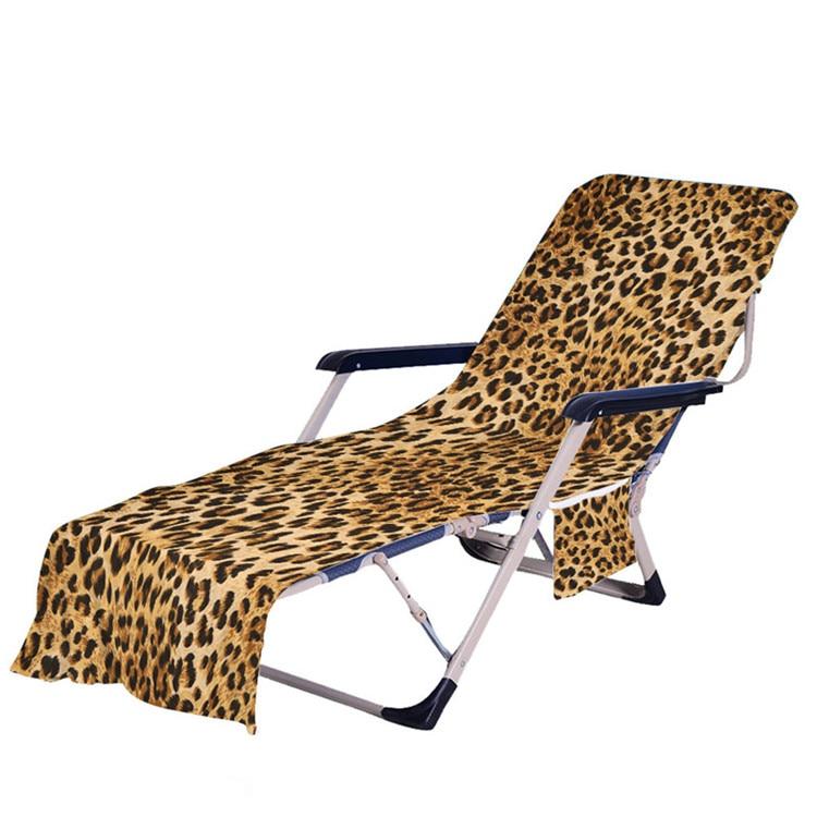 75*210cm microfiber recliner praia cadeira toalha capas