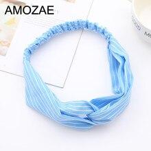 6 Colors Print Turban Bandage Bandana Headwear Headwrap Headband Women Female Bow Elastic Hair Band Hair Accessories Hairband стоимость