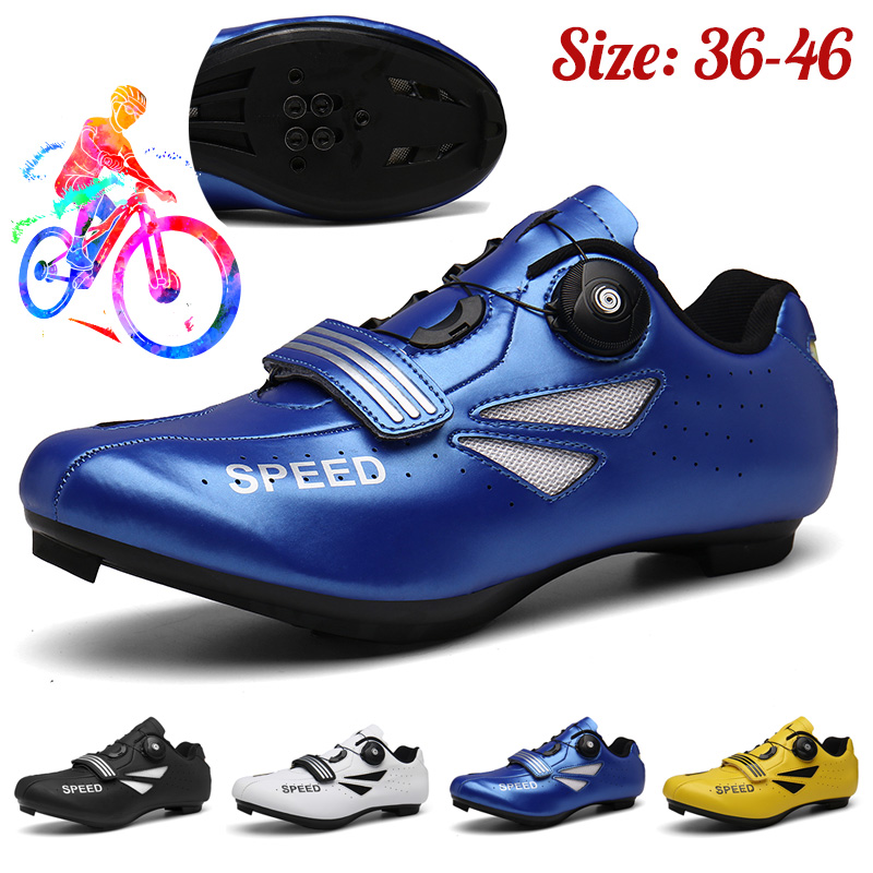 Men Cycling Shoes Road Mountain Bike Bicycle Sneakers Triathlon Racing Shoes MTB