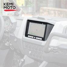 KEMIMOTO RZR 2020 2021 UTV akcesoria do Polaris PRO XP czarny GPS Center konsola pokrywa uchwyt do deski rozdzielczej płyta