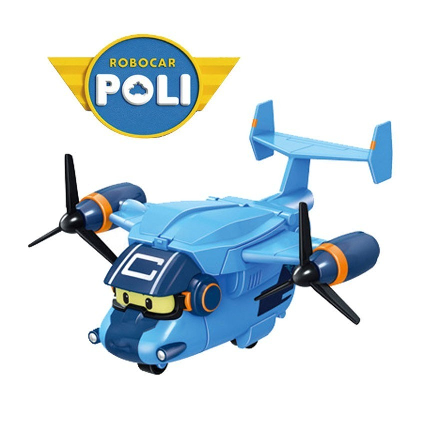 New Styles Kid Toys Robocar Poli Aircraft Deformation Robot Poli Amber Roy <font><b>Car</b></font> Toys Action Figure Toys For Children Best Gifts image