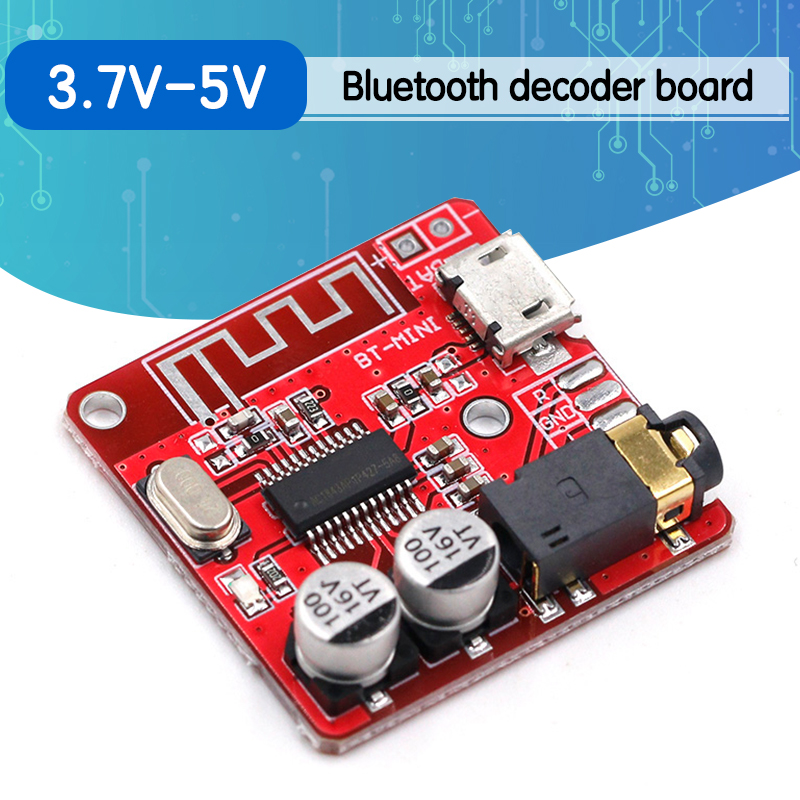 Bluetooth Audio Receiver board Bluetooth 4.1 mp3 lossless decoder board Wireless Stereo Music Module 3.7-5V XY-BT-Mini
