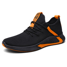 Spring And Autumn Men Sneakers Lightweight Breathable Zapatillas Man Casual Shoes