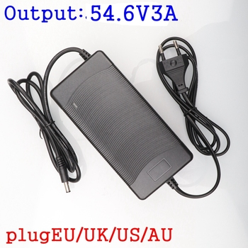 цена на 54.6V 3A Battery Charger For 13S 48V Li-ion Battery electric bike lithium battery Charger High quality Strong heat dissipation