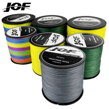 JOF Multicolor 12/9/8 Strands 300M 100M PE Braid Fishing Line Sea Saltwater Fishing Weaves 100% SuperPower