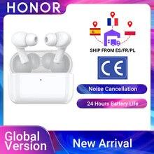 RUB1000 120 Промо код:PLUS1000 Honor Earbuds X1 TWS Беспроводные Bluetooth 5,0 наушники шумоподавление двойной микрофон звонки SBC & AAC 24H Gametime