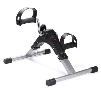 Bicicleta de Fitness para el hogar Mini bicicleta de ejercicio cuerpo gimnasio máquina mano pierna rehabilitación interior plegable con Pedal antideslizante