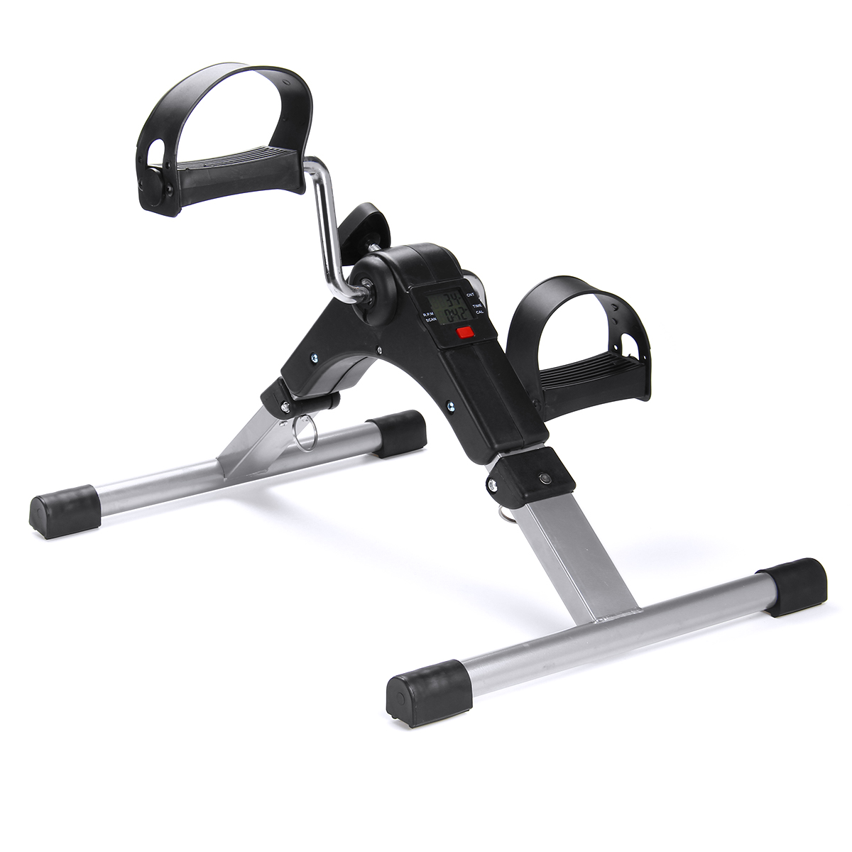 Fitness Bicycle Household Mini Exercise Bike Body Gym Machine Hand Leg Rehabilitation Indoor Foldable With Anti-slip Pedal