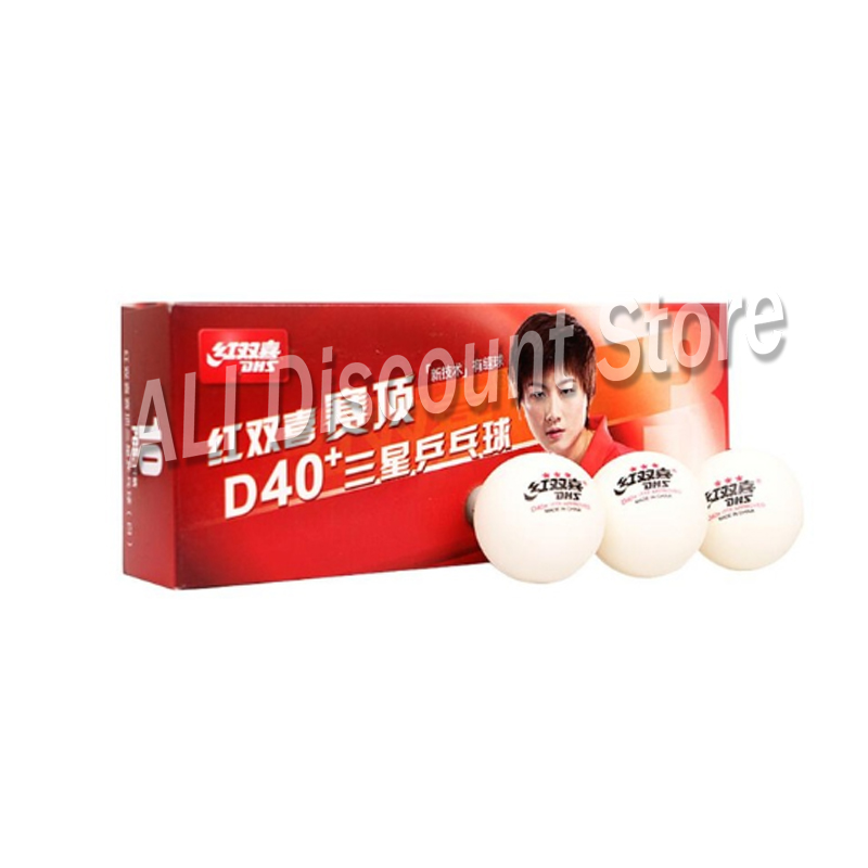 Original Dhs Palio Sanwei 729 40+ 3 Stars New Table Tennis Ball New Technology For Ping Pong Racket Ittf Approved