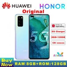 Original Huawei Honor V30 8GB RAM 128GB ROM SmartPhone Kirin990 Octa Core 5G GPU 40mp Triple Cam 40W Aufzurüsten
