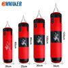 Cbmmaker Professional Sandbag Punching Bag Training Fitness With Hanging Kick Boxing Adults Gym Exercise Empty-Heavy Boxing Bag