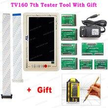 TV160 7th Generazione Mainboard Tester Strumento di 7 Pollici Display 7th Vbyone & LVDS a HDMI Tester Con Il Regalo