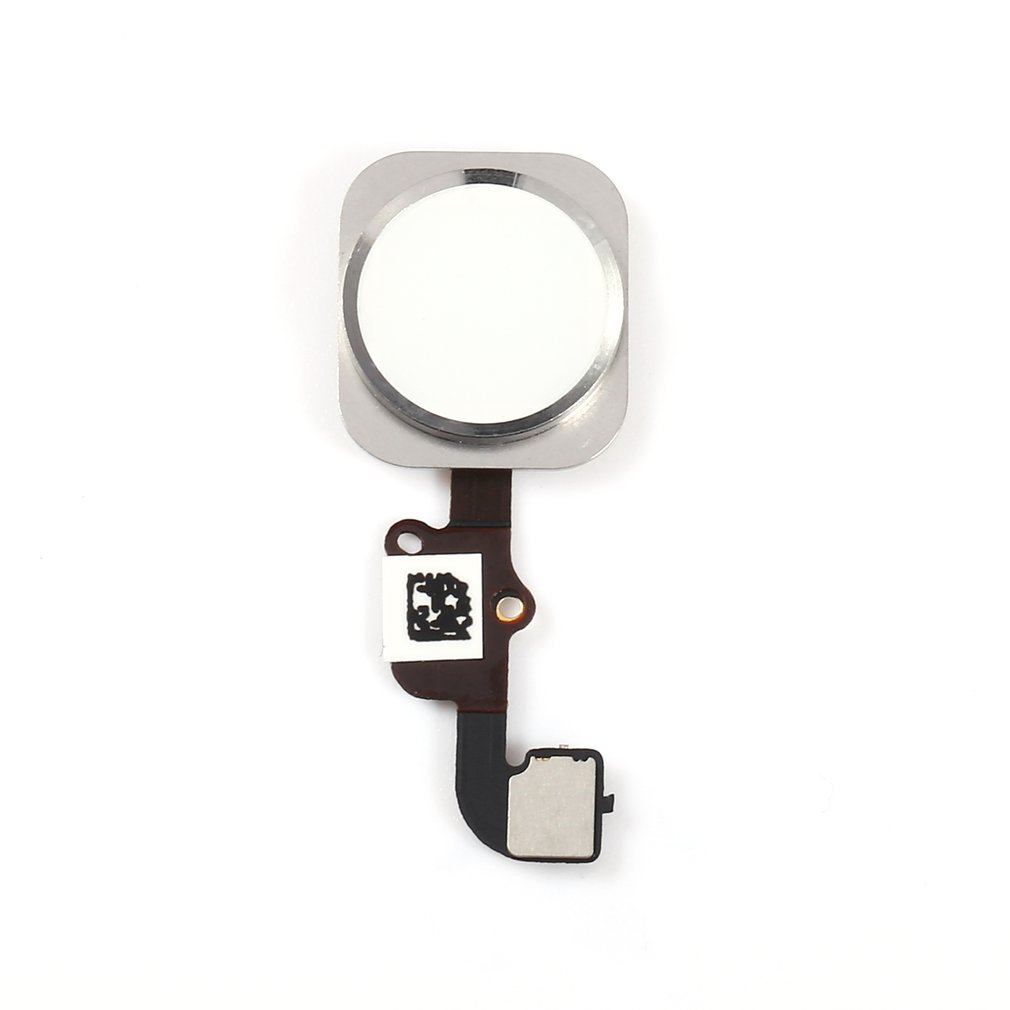 Home Button Flex Cable Touch ID Sensor Replacement Part For IPhone 6 4.7 Inch Gold/Black/Silver/Rose Gold