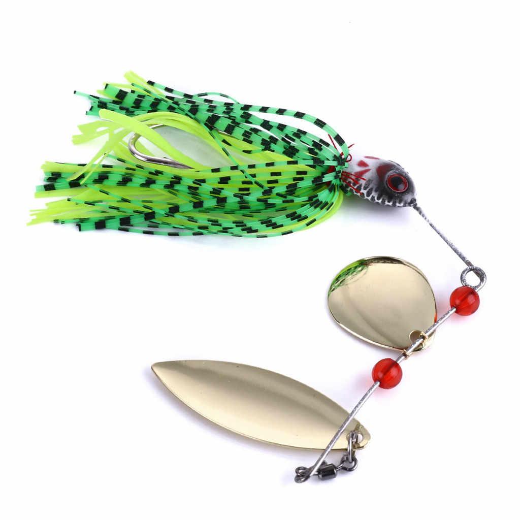 4 Warna 1 Pcs Pemintal Umpan 18G Logam Umpan Keras Memancing Umpan Spinner Umpan Pike Putar Ikan Mengatasi Orang Yg Tak Dpt Dipercaya