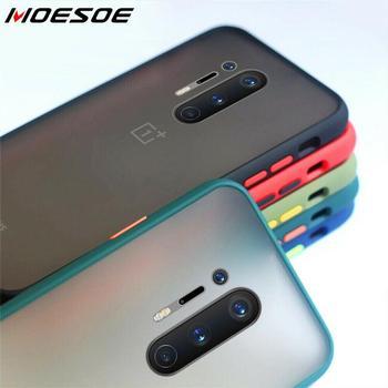 Перейти на Алиэкспресс и купить Гибридный простой матовый чехол-бампер Mint для телефона One Plus 7 8 Pro 6T 7T, Ударопрочный Мягкий силиконовый прозрачный чехол из ТПУ для OnePlus