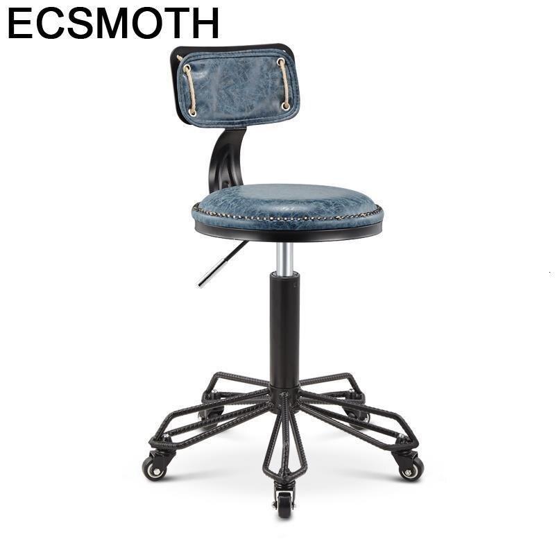 Fauteuil Stuhl Nail Salon Furniture Sedia Cabeleireiro Sessel De Barbeiro Makeup Silla Cadeira Barbershop Barbearia Barber Chair