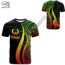 PLstar Cosmos Pohnpei Polynesian Culture Tribe Island Retro Tattoo 3DPrint Men/Women Summer Streetwear Short Sleeve T-Shirts A-1