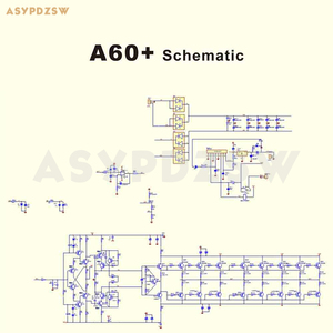 Image 5 - 2ch a60 + placa do amplificador de potência 2sa1943/2sc5200 ou mjl4281a/mjl4302a referência accuphase a60 feedback atual