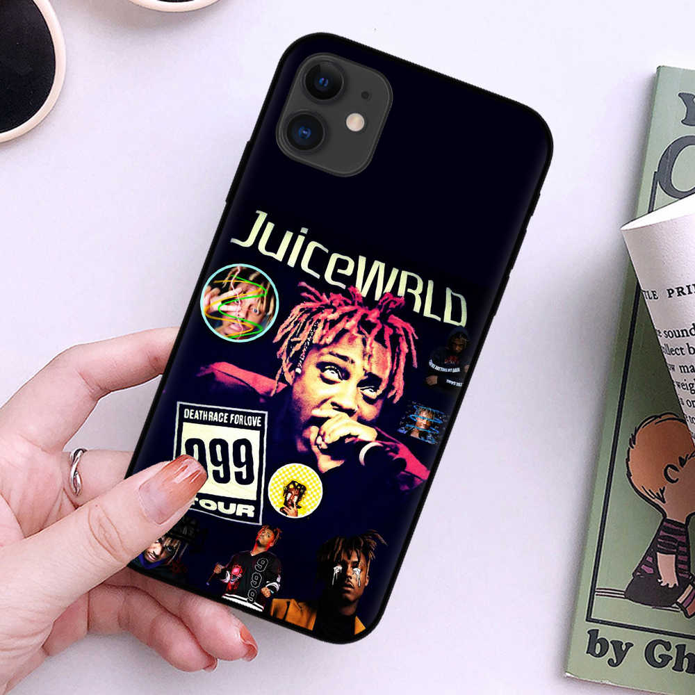 ראפ מיץ Wrld והיפ הופ להקת הזמר מותג RIP רך סיליקון טלפון Case עבור מכשירי iphone 11 פרו מקסימום 6 6s 7 8 בתוספת Xs XR XS מקס 5S