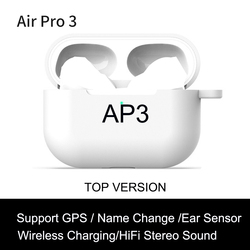 AP3 TWS Wirelesss Bluetooth Earphones 1:1 Light Sensor NO cut off muisc Earbuds 9D Super Bass PK i99999 Plus i900000 Pro