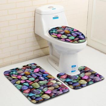 Cubierta De Inodoro para asiento De Inodoro, accesorios De tapete, decoración De inodoros, baño, Tampa, Sanitario