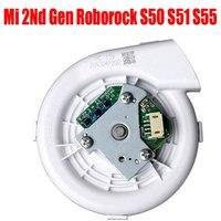 Ev Aletleri'ten Elektrikli Süpürge parçaları'de Için yeni Fan XIAOMI Roborock S50 S51 robotlu süpürge yedek parça