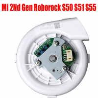 Nuevo ventilador para Xiaomi Roborock S50 S51 Robot repuestos de aspiradora