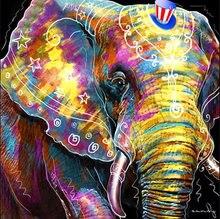 Животные diy Алмазная картина слон мозаика для рисования полный