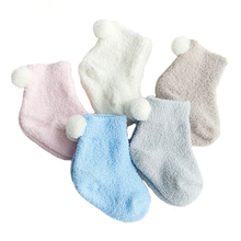 2019 New Cute Soft Winter Baby Socks Solid Cotton Girls Boys Warm Style For NewBorn to 3 Years Pairs/Lot