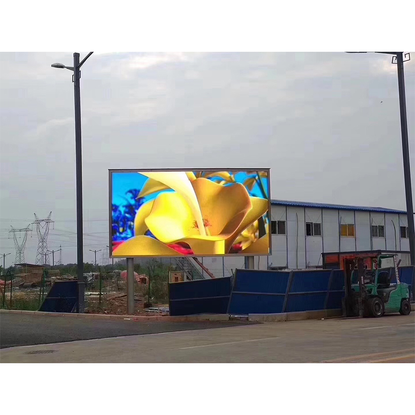 HD P8 LED Display Outdoor SMD3535 512X512mm Die Casting Aluminum Cabinet LED Video Wall Rental, Advertising Screen Panel