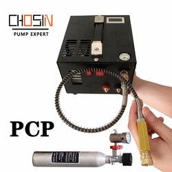 Mini Pcp Air gun snelle Inflator pomp 4500psi 300bar 30mpa 12 v/220 v Inclusief Transformator Auto hoge druk air compressor