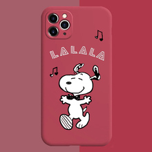 Off Street Trend brand White hip-hop dog phone case for iphone 11 xr 7 x 8plus Glow In Dark Luminous Soft TPU shell for Xs max glow in the dark protective tpu pc back case for iphone 5 green transparent