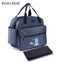 цена на Printing fashion single shoulder slanting mother and baby outgoing bag multi-functional large capacity mummy bag