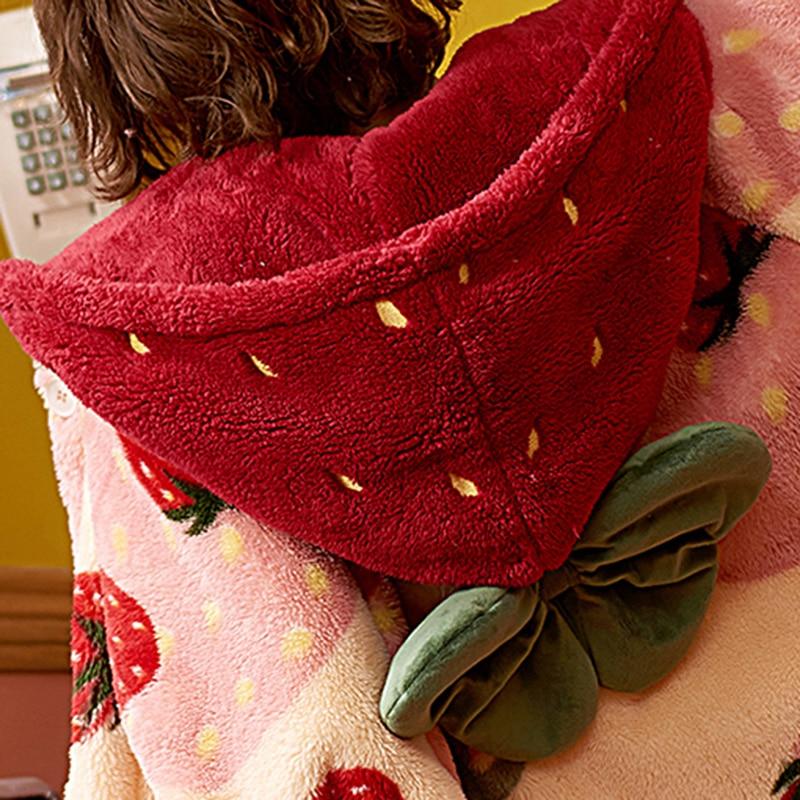 Kawaii Cozy Winter Nightgown 6